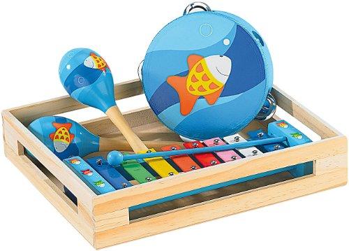 Playtastic Xylophon Kinder: Fröhliches Instrumente-Set für kleine Musikanten (Instrumente für...
