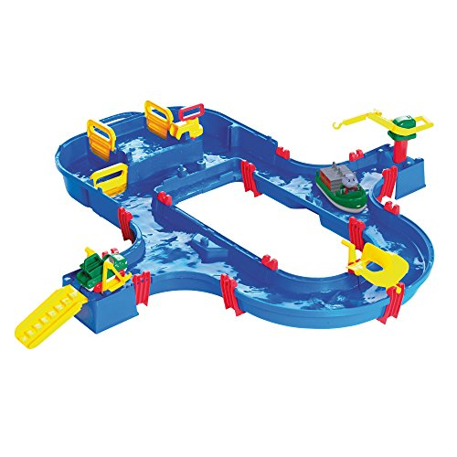 Aquaplay 8700001520 - Wasserbahn Set 'Superset'