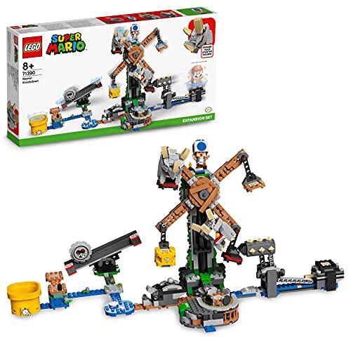 LEGO 71390 Super Mario Reznors Absturz – Erweiterungsset, Baubares Kinderspielzeug Zum Sammeln,...