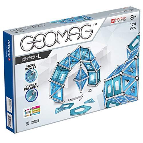 Geomag, Pro-L, 025, Magnetkonstruktionen und Lernspiele, Konstruktionsspielzeug, 174-teilig