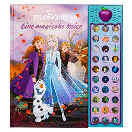30-Button-Soundbuch - Disney - Die Eiskönigin 2, Die magische Reise! - interaktives Bilderbuch mit 30...
