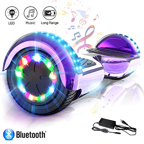 COLORWAY Hover Scooter Board 6.5 Zoll Hoverboard - Self Balance Scooter Elektro Scooter- LED & Bluetooth...