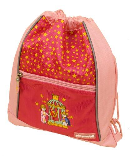 PLAYMOBIL Kinder Turnbeutel Prinzessin, rosa, 27 x 33 cm