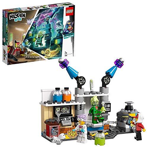 LEGO Hidden Side 70418 J.B.'s Geisterlabor, Spielzeug für Kinder mit Augmented Reality Funktionen