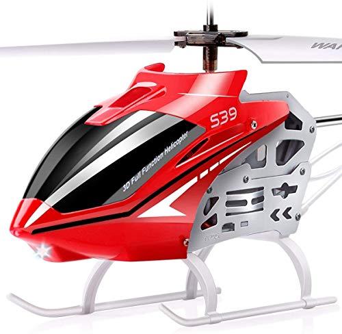 SYMA Ferngesteuerter Helikopter S39 RC Hubschrauber 3.5 Kanal 2.4 Ghz LED Leucht und Gyro-Technik...