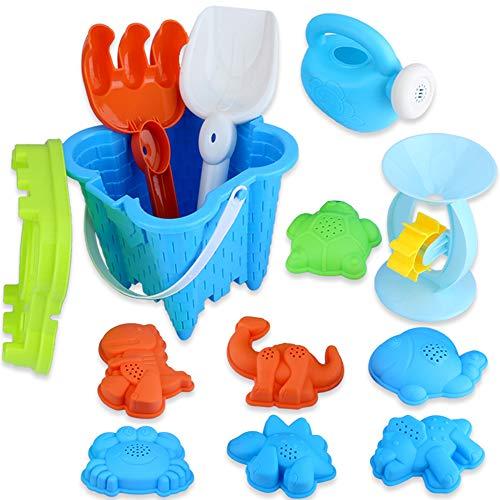 Wrei Beach Sand Toy Set ,13 Pack Strandspielzeug Set Sea Creatures Beach Toy Set, Boy's and Girl's...