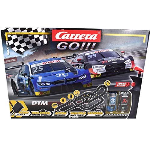 Carrera 20062520 Carrera GO!!! Race UP! Rennstrecken-Set | 9 m elektrische Rennbahn mit Audi RS 5...