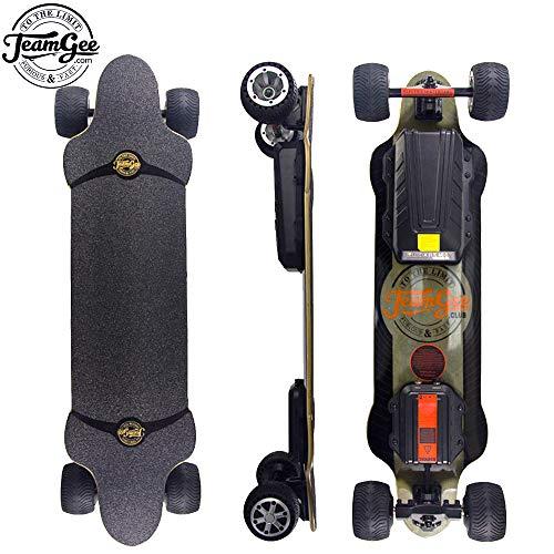 Teamgee H20T Elektrisches Skateboard mit Fernbedienung, Longboards, entworfen für Jugendliche und...
