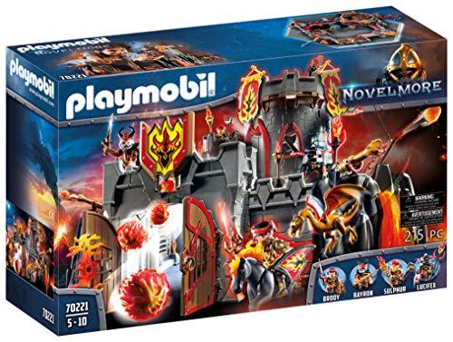 PLAYMOBIL Novelmore 70221 Festung der Burnham Raiders, Für Kinder von 5-10 Jahren