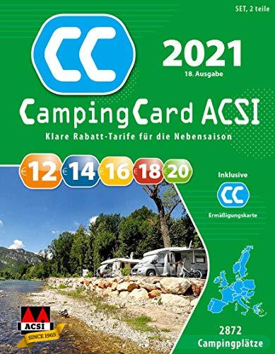 ACSI CampingCard Ermäßigungskarte 2021 für die Vor- und Nachsaison Deutsch – Rabattkarte