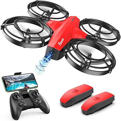 Potensic Mini Drohne für Kinder mit Kamera, FPV WiFi Live Übertragung, verbesserter Propellerschutz,...