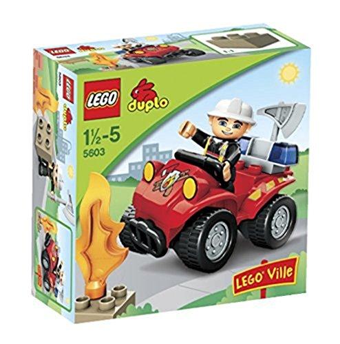 Spielzeug-Feuerwehrauto 'Feuerwehr-Hauptmann' von LEGO duplo