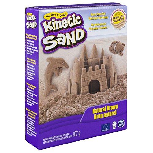 Kinetic Sand 20087567 - Kinderknete - 907 g Pack, braun