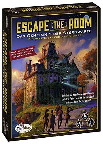 ThinkFun 76313 - Escape the Room - Das Geheimnis der Sternwarte