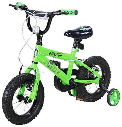 Actionbikes Kinderfahrrad Zombie - 12 Zoll - V-Break Bremse vorne - Stützräder - Luftbereifung - Ab 2-5...