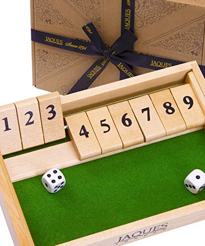 Jaques von London 9s Schließen Sie die Box Holz Spiele - Perfektes Lernspielzeug für 3 4 5 5 6-Jährige...
