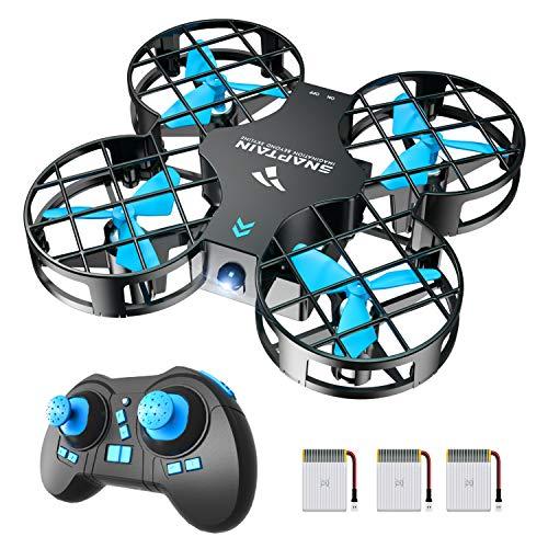 SNAPTAIN Mini Drohne H823H mit 3 Akkus für 21 Minuten Flugzeit, RC Drone, Quadrocopter Mini Helikopter...