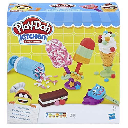 Hasbro Play-Doh E0042EU4 - Kleiner Eissalon Knete, für fantasievolles und kreatives Spielen