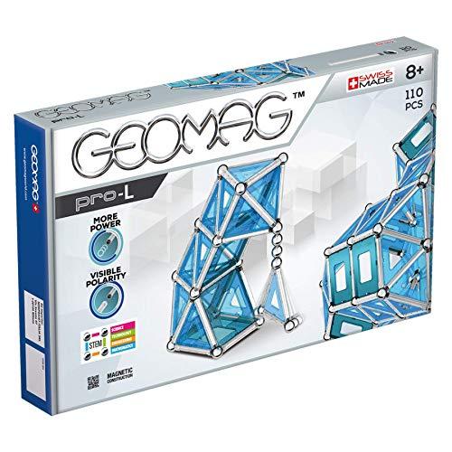 Geomag, Pro-L, 024, Magnetkonstruktionen und Lernspiele, Konstruktionsspielzeug, 110-teilig
