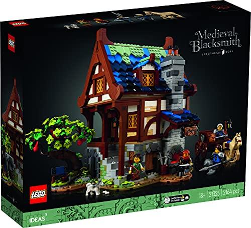 Haus-Bauset 'Mittelalterliche Schmiede' von LEGO Ideas
