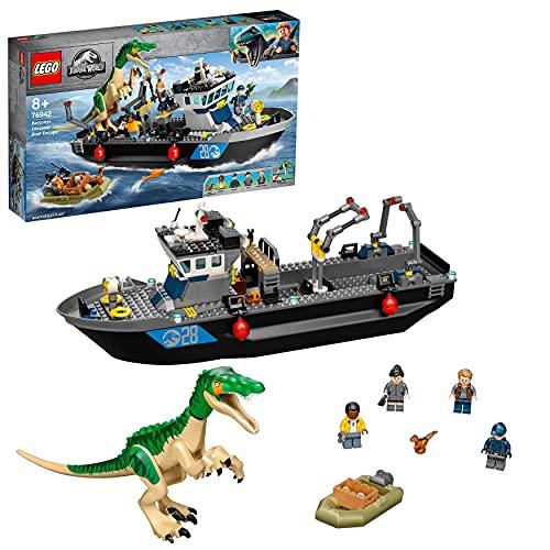 Dinosaurier-Spielzeug 'Flucht des Baryonyx' von LEGO Jurassic World
