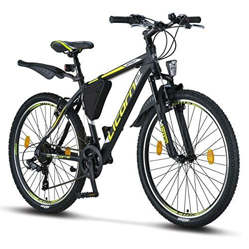 Licorne Bike Premium Mountainbike in 26 Zoll - Fahrrad für Jungen, Mädchen, Herren und Damen - Shimano...