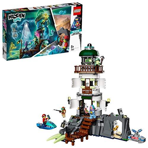 Spielzeug-Leuchtturm 'Der Leuchtturm der Dunkelheit' von LEGO Hidden Side