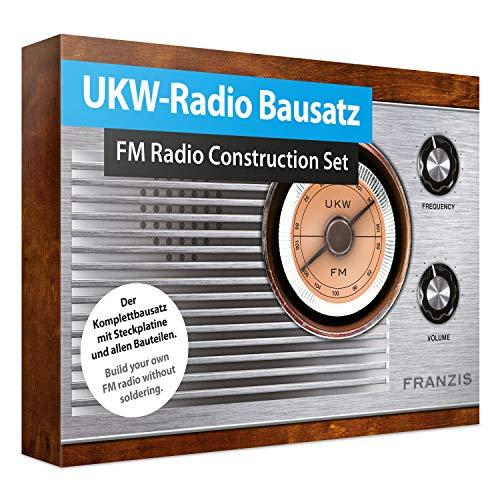 UKW-Radio Bausatz / FM Radio Construction Set: Der Komplettbausatz mit Steckplatine und allen Bauteilen....