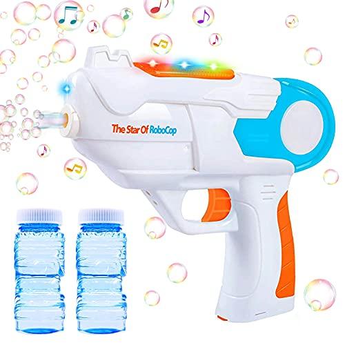 Seifenblasenpistole,Bubble Maschine Pistole,Seifenblasenmaschine für Kinder,Automatische Bubble Machine...