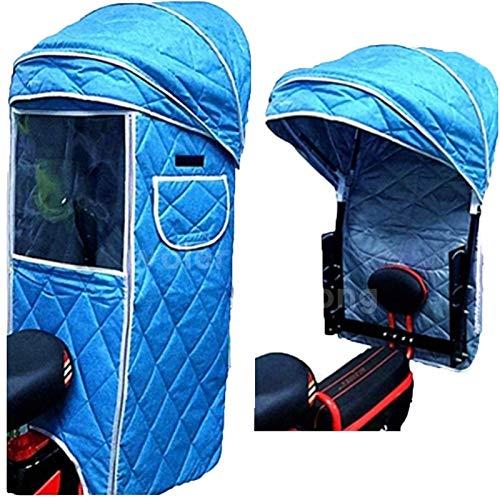 Regenschutz Für Kinderfahrradsitze, Kinderfahrrad-Rücksitzüberdachung, Kinderwagen,...