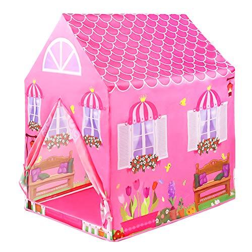 Kinderzelt Spielzeug ab 2 3 4 Jahre Spielzelte Tipi Zelt Für Kinderzimmer Kinder Spielhaus für Mädchen...