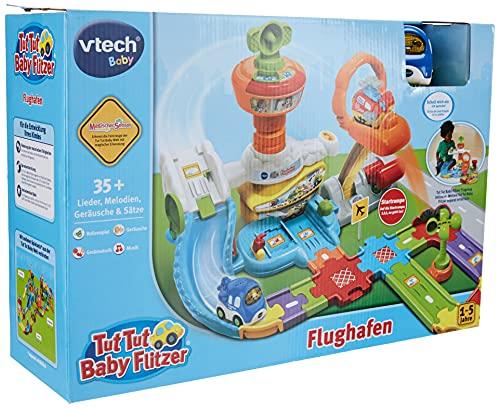 Vtech 80-512604 TUT Baby Flughafen Flitzer Fahrzeuge Babyauto, bunt
