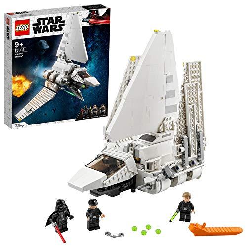 LEGO75302StarWarsImperialShuttleBausetmitLukeSkywalkermitLichtschwertundDarthV...