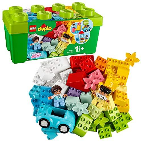 LEGO 10913 DUPLO Steinebox Box Bauset mit Aufbewahrungsbox, Erste Steine Lernspielzeug für Kleinkinder...