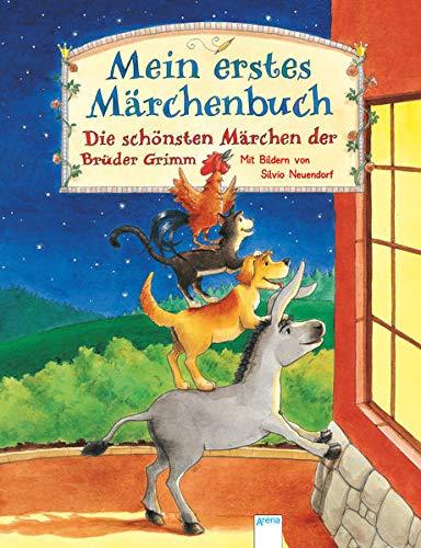 Mein erstes Märchenbuch: Die schönsten Märchen der Brüder Grimm. Vorlesebuch ab 4 Jahren (Edition...