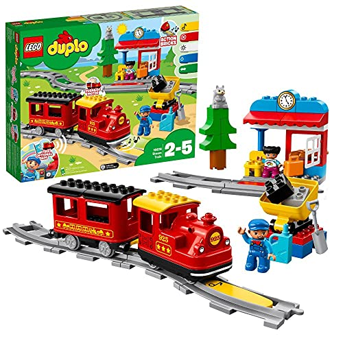 LEGO duplo - Dampfeisenbahn/Spielzeugeisenbahn