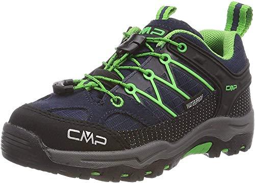 CMP – F.lli Campagnolo Jungen Unisex Kinder Kids Rigel Low Shoe Wp Trekking-& Wanderhalbschuhe, Blau...