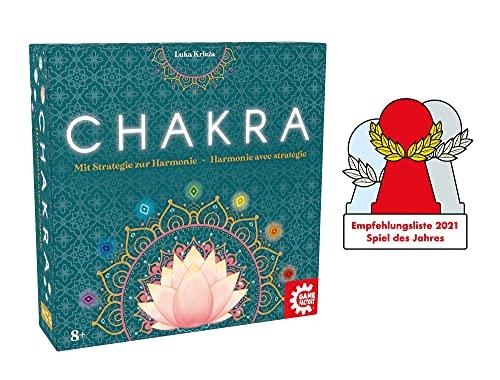 Game Factory 646277 Chakra, Mit Strategie zur Harmonie, Familienspiel, Strategiespiel für Erwachsene und...