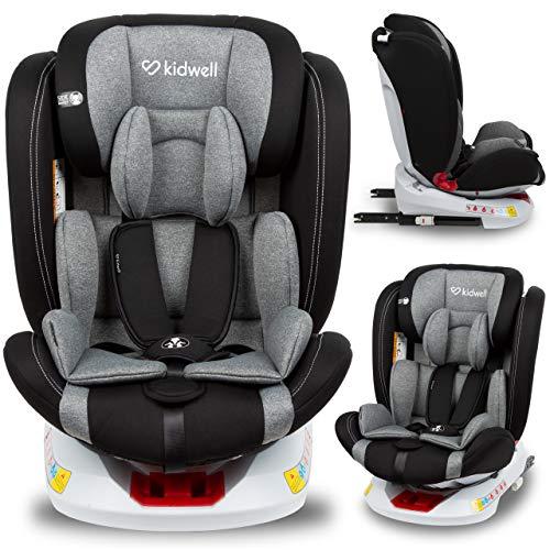 KIDWELL ORBIT Autositz 360° drehbar Kindersitz 0-36 kg mit Isofix | 0-11 Jahren | Gruppe 0/0+ / 1/2/3 |...
