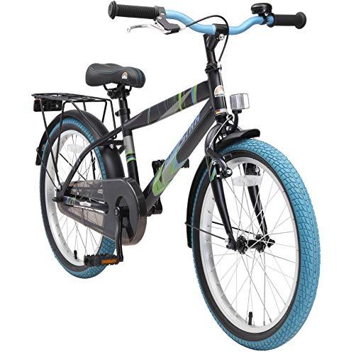 BIKESTAR Kinderfahrrad 20 Zoll für Jungen ab 6-7 Jahre | 20er Kinderrad Modern | Fahrrad für Kinder...