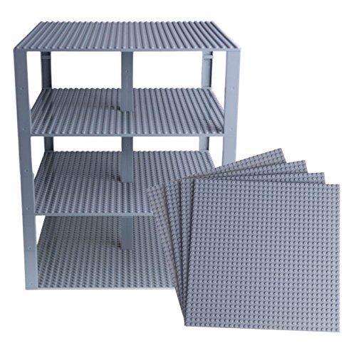 Strictly Briks - Stapelbare Premium-Bauplatten - kompatibel mit Allen großen Marken - geeignet für...