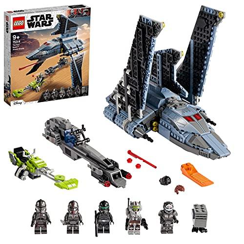 Star Wars-Spielzeug 'Angriffsshuttle aus The Bad Batch' von LEGO Star Wars