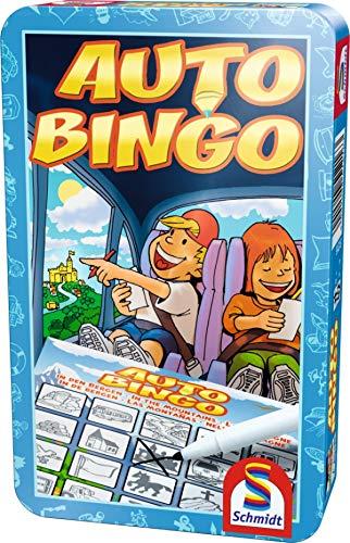 Schmidt Spiele 51216 - Auto Bingo, Metalldose