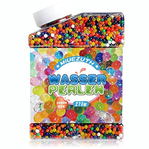 Miuezuth Wasserperlen Mix Wasserkugeln Aqualinos Aquaperlen, Wassergel-Kugeln Deko für Hochzeit Party,...