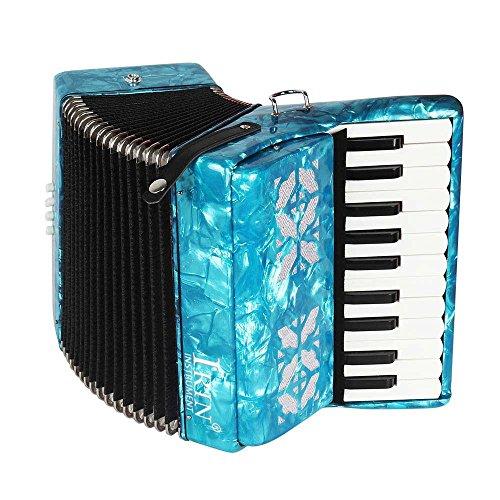 Tbest Akkordeon Kinder 22-Key 8 Bass Piano Akkordeon, Pädagogisches Musikinstrument Akkordeon mit 1...