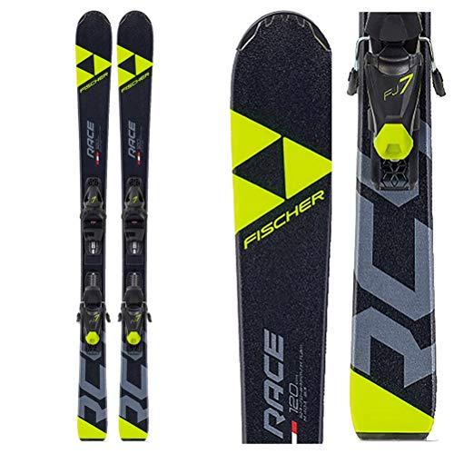 Fischer Ski Jugendski RC4 Race JR SLR 130cm Modell 2020 + Bindung FJ7 AC SLR