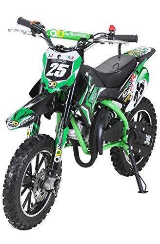 Actionbikes Motors Mini Kinder Crossbike Gepard 49 cc - Scheibenbremsen - Sportluftfilter - Sportauspuff...