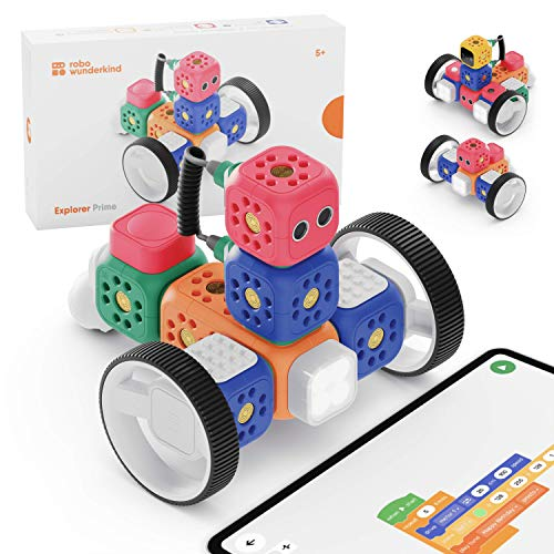 "Programmierbarer Lernroboter ""Explorer Prime"" von Robo Wunderkind"