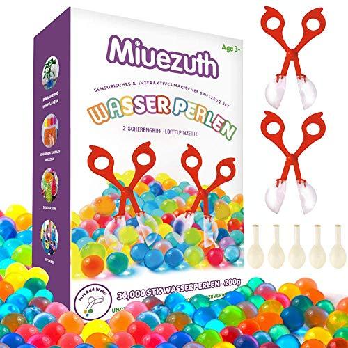 Wasserperlen für Kinder Ungiftig Wasserkugeln Mix Aquaperlen Orbeez Aqualinos Water Beads Deko für...
