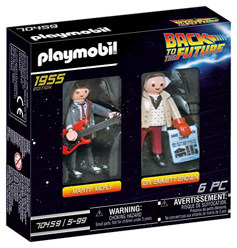 PLAYMOBIL Back to the Future 70459 Marty McFly und Dr. Emmett Brown, Ab 6 Jahren